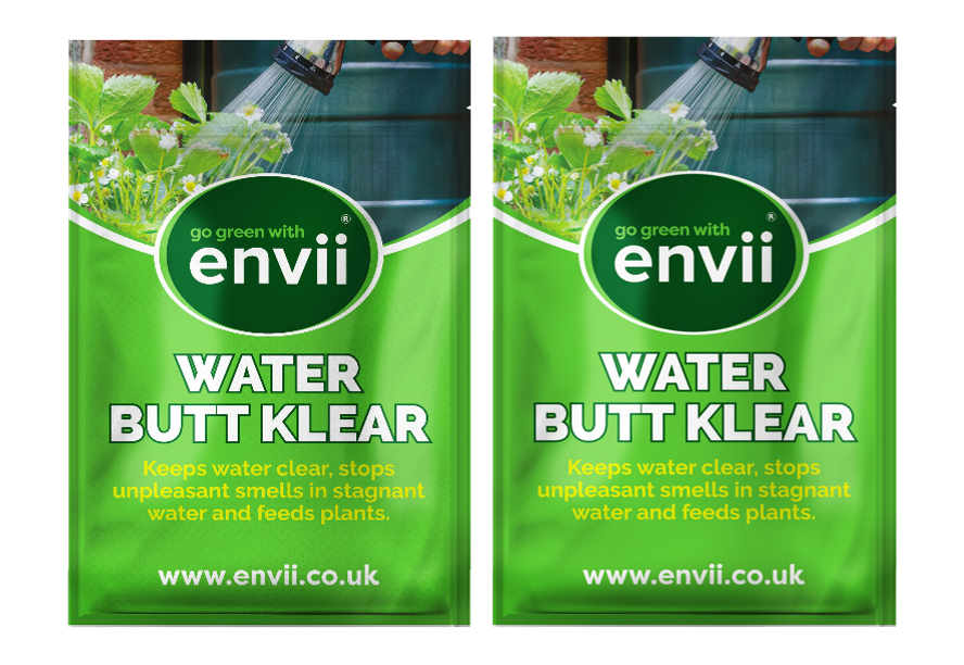 Envii Water Butt Klear - Water Butt Treatment & Natural Plant Feed - 40 Tablets