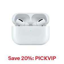 Apple AirPods Pro with Wireless Case White MWP22AM/A, 20% Off: PICKVIP