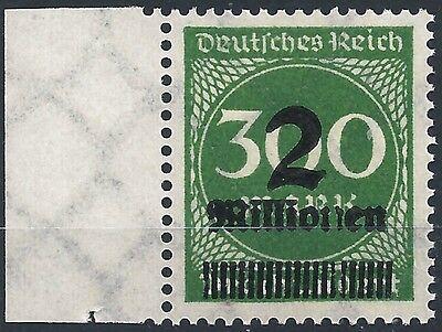 Deutschland Vor 1945 Freundlich Ziffer Im Kreis Minr 310 Opd Leipzig Mit Markantem Aufdruckfehler Postfrisch Freigabepreis