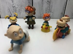 Vintage-1998-Nickelodeon-Rugrats-Movie-Burger-King-Set-of-9-Toys-Kids-Club-Meal