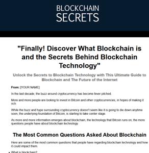 Blockchain-Secrets-Website-For-Sale