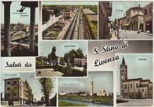 SALUTI DA S.STINO DI LIVENZA - VEDUTINE (VENEZIA) 1963