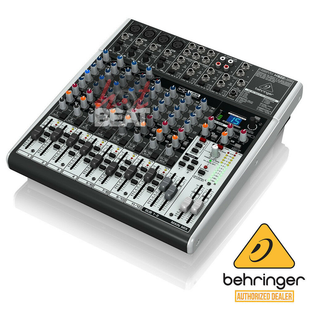 Behringer XENYX X1622USB 16-Channel Mixer Mixing Board w/ USB FX EQ 110-240V. Buy it now for 339.00