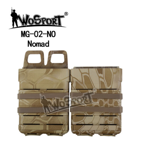 Airsoft FAST MAG Vest Accessory Box Holster Magazine Pouch Molle Strike System