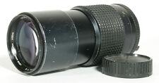 200MM F/4 ROKKOR-X MINOLTA MD LENS W/ ORIGINAL CAP