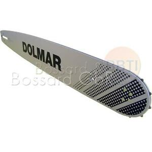 """Schwert 2 Ketten passend für Dolmar PS510 38 cm 3//8/"""" 56 TG 1,5 mm Sägekette"""