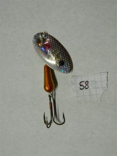 Cucchiaino ancoretta MARTIN originale per pesca fiume e lago acqua dolce H58