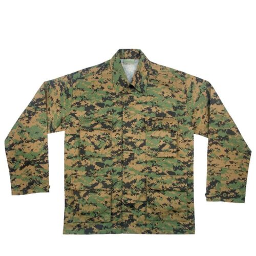 Rothco 8690 Woodland Digital Camo BDU Shirt