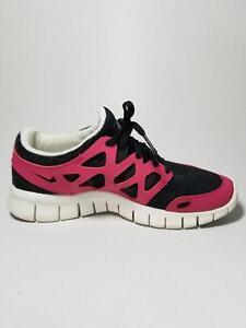 new arrival 1f2c0 b3f84 italy nike free run 2 ext sort lyserød trainers ladies af383 ...