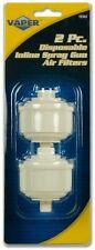 Titan 19302 Tool Disposable Air Line Filters 2 Piece For Paint Spray Guns