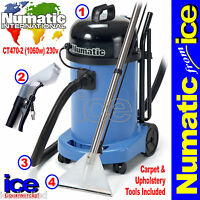 Numatic Ct470-2 Commercial Carpet Upholstery Cleaning Machine Equipment Kit A40a