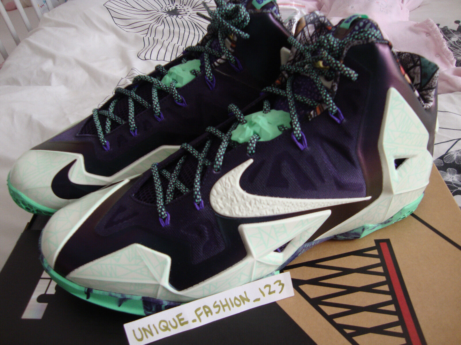 NIKE LEBRON XI 11 ALL STAR US 15 AS GUMBO LEAGUE GATOR KING 2014 KD 6