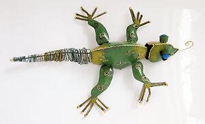 Iguana Three-dimensiona Steel Wall Sculpture Decoration/art Chameleon Lizard