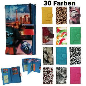 Damen-Geldboerse-Damenboerse-Portemonnaie-Geldbeutel-Kunst-Grosse-Auswahl-U5