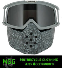SHARK RAW MOTORCYCLE MOTORBIKE HELMET ALL OVER GOGGLE & MASK REPLACEMENT KIT