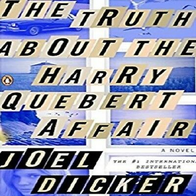 The Truth about the Harry Quebert Affair by Joël Dicker (2014, Paperback) Int'l