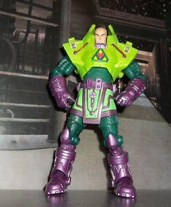DC SUPER HEROES MATTEL S3 SELECT SCULPT LEX LUTHOR FIGURE DIRECT UNIVERSE