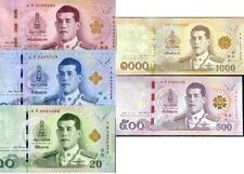 THAILAND SET 2 PCS 20 50 BAHT 2012//2013 NEW DESIGN P NEW RANDOM SIGNS UNC