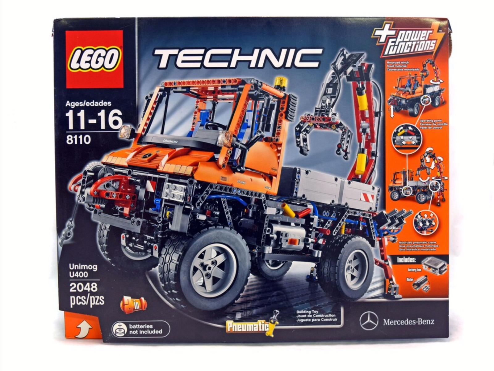 NEW SEALED LEGO 8110 TECHNIC  MERCEDES BENZ UNIMOG U U U 400 RARE XLNT 7de922