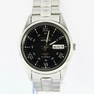 Citizen-Classic-Automatic-Men-039-s-Stainless-Strap-Watch-NH3120-56E