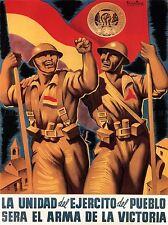 WAR PROPAGANDA SPANISH CIVIL INTERNATIONAL BRIGADE REPUBLICAN SPAIN 2802PYLV
