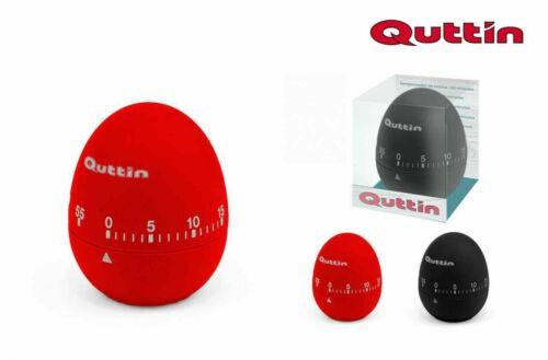 Rouge QUTTIN de cuisine Minuteur Cuisson Oeuf Horloge Noir