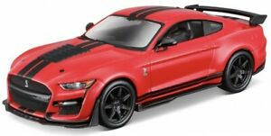 Ford SHELBY GT500 2020, Bburago Street Fire 1:32, Neu