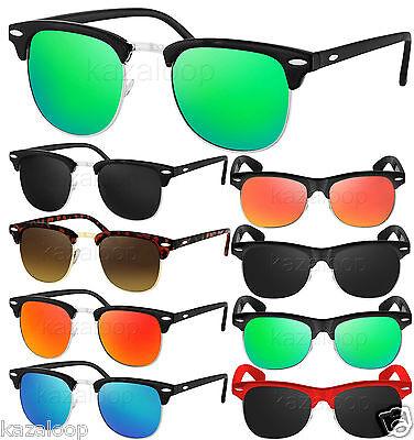 Vintage Style Clubmaster Square Sunglasses Retro Glasses CE Certified UV400