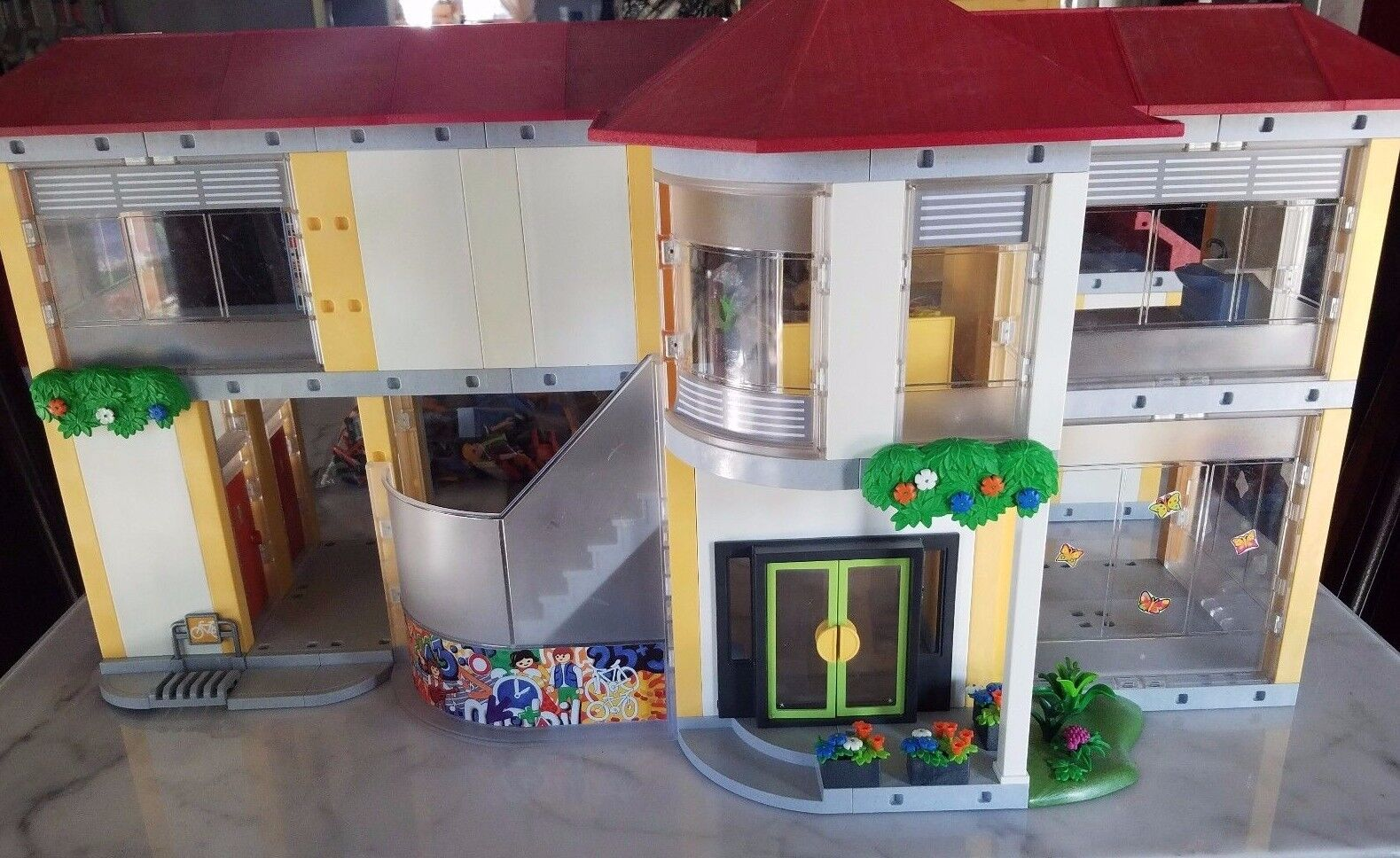 Playmobil Large School 4324 Building Play Play Play Set Construction Kit + Accessories Toy db4655