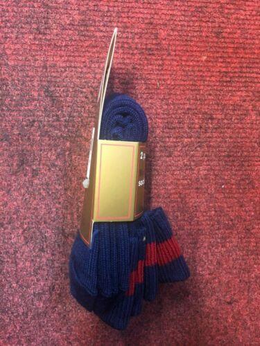 2 Pack School Hiking Children/'s Winter Thick Blue Knee Length 6-8 ½ Wool Socks