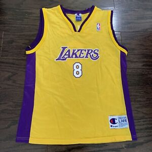 Details about Kobe Bryant #8 LA Los Angeles Lakers NBA Basketball Champion Jersey Youth Large