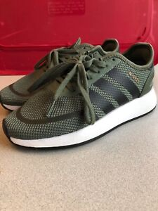 adidas N-5923 Shoes SIZE 4 Tent Green