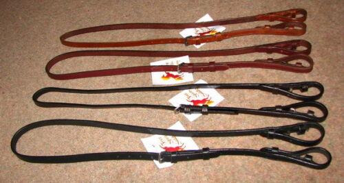 FSS Leather Bradoon Sliphead Second Bit Hanger Chifney//Double Bridle Headpiece