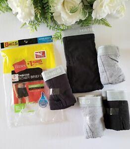 livraison gratuite 28-30 Hanes 5 PK Tagless Comfort Soft Hommes Slips Taille S