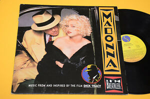 MADONNA-LP-I-039-M-BREATHLESS-DAL-FILM-DICK-TRACY-ORIG-ITALY-1990