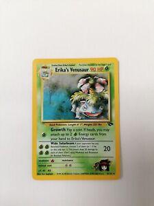 Pokemon Erika's Venusaur-BISAFLOR-Florizarre-????? Holo-PSA 4/132