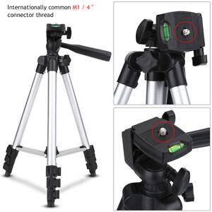 Flexible Portable Aluminum Tripod Stand With Bag for Canon Nikon DSLR Camera