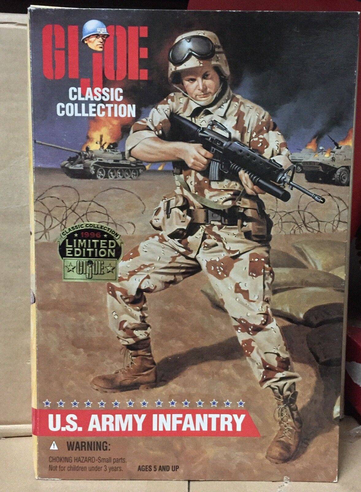 GI JOE  CLASSIC COLLECTION U.S. ARMY INFANTRY