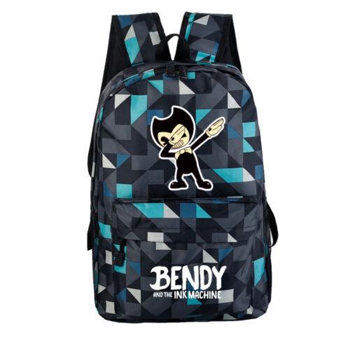 BENDY AND THE INK MACHINE Bag Rucksack Schoolbag Traveling Backpack Bag