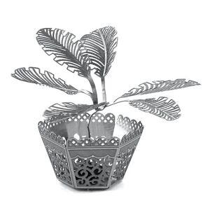 Details about Fascinations Metal Earth 3D Laser Cut Steel Model Kit Sago  Palm Plant Tree
