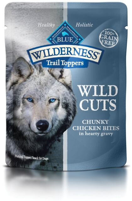 Blue Wilderness Trail Toppers Wild Cuts High Protein Grain Wet Dog