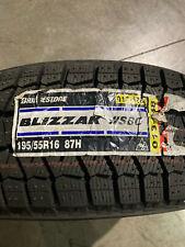4 New 195 55 16 Bridgestone Blizzak Ws80 Snow Tires