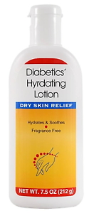 Diabetics Hydrating Soothing Lotion Dry Skin Relief 7 5 Oz