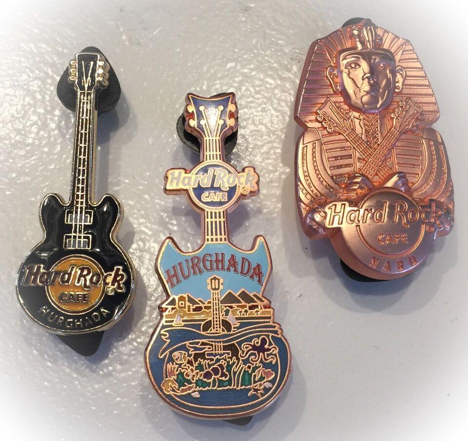 Badges, Hard Rock Café