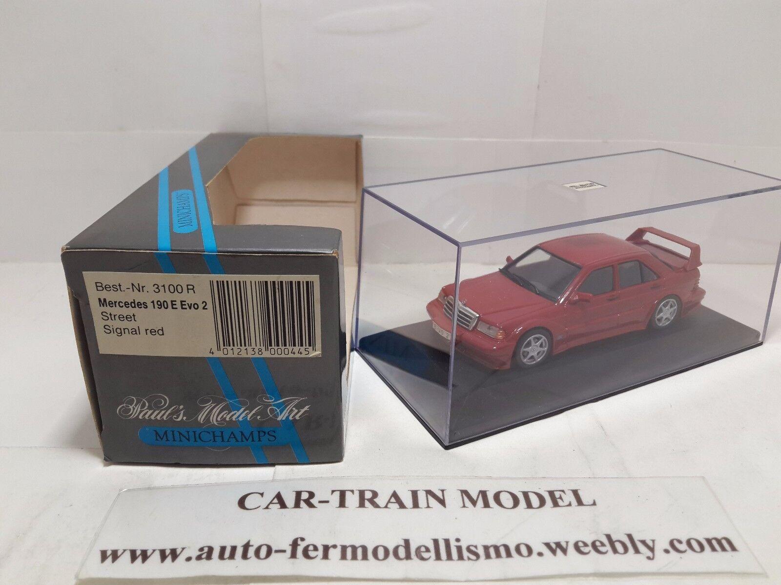 Mercedes 190 E Evo 2 - Minichamps 1 43 1 43 1-43