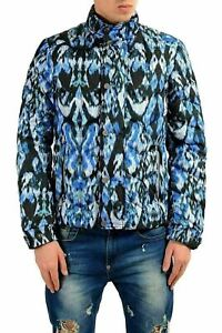 Just-Cavalli-Men-039-s-Multi-Color-Full-Zip-Insulated-Parka-Jacket-US-S-IT-48