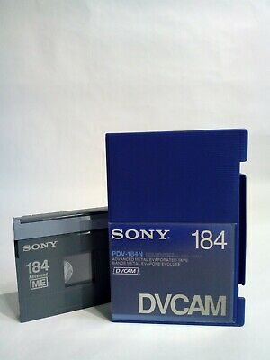 DVCAM SONY PDV-184N Didital Video Cassette New