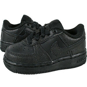 nike air force 1 bambino nere