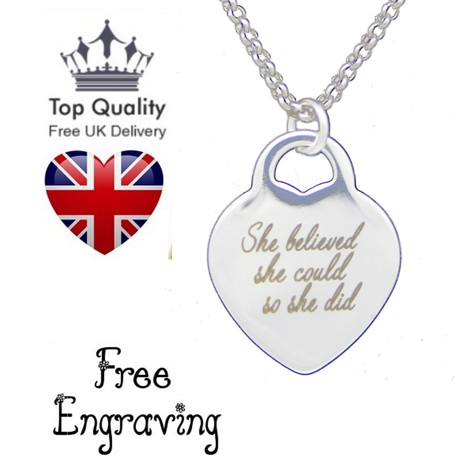 line pendant necklace adam engraved