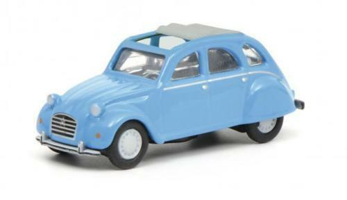 Schuco Citroen 2CV//2 Cv Blue Blue 1:87 Item 45 263 2500